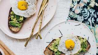 Vegan fried egg toast. Picture: Supplied