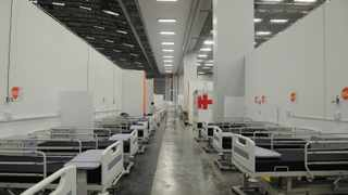 The Cape Town International Convention Centre Intermediate Care Facility with 800 plus beds. Picture Courtney Africa/African News Agency(ANA)