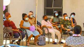 Expectant mothers at Medforum Private Hospital on World Premature Day. Picture: Suppplied