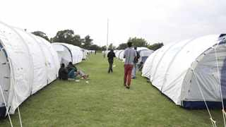 Homeless people in Tshwane stayed in tents during early lockdown. Picture: ANA files