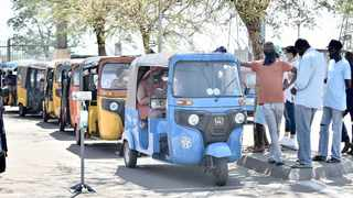 Tuk-tuks are a fast-growing mode of public transport in Eersterust, despite concerns they are illegal and the alleged unacceptable conduct of the operators. Picture: Thobile Mathonsi African News Agency (ANA)