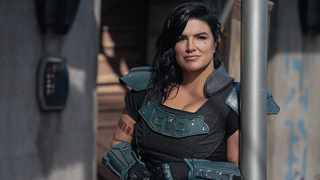 Gina Carano in 'The Mandalorian'. Picture: Lucasfilm
