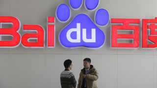 Baidu's quarterly revenue shrank 1 percent and its projections suggest sales could slide again. Photo: File