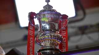 The FA Cup trophy. Photo: Glyn Kirk/AFP