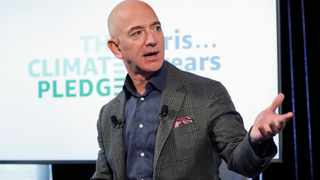 Amazon Chief Executive Jeff Bezos topped Forbes' list of richest Americans for the third year in a row, while US President Donald Trump's ranking dropped as the coronavirus pandemic slammed his office buildings, hotels and resorts. Photo: (AP Photo/Pablo Martinez Monsivais)