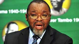 South Africa's Mineral Resources and Energy Minister Gwede Mantashe.