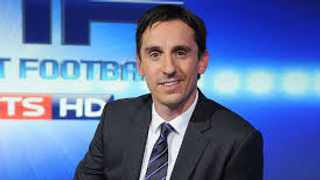 FILE - Football pundit and former Manchester United defender Gary Neville.