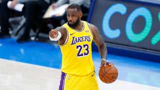 Forward LeBron James helped the LA Lakers to a NBA best 12-4 so far this season. Picture: Alonzo Adams-USA TODAY Sports