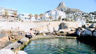 The City of Cape Town is finally making a move to repair steps to the tidal pool at Saunders Beach after a Cape Town advocate's five-year campaign to get it done. Picture: Ayanda Ndamane/African News Agency (ANA)