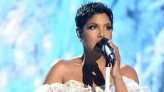 Toni Braxton performs onstage during the 2019 American Music Awards at Microsoft Theater on November 24, 2019 in Los Angeles, California. Picture: Bang Showbiz