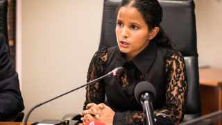 The City's of Cape Town's mayoral committee member for water and waste, Xanthea Limberg. Picture: African News Agency (ANA)