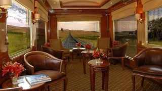 Hayes & Jarvis ranked South Africa among the world's greatest rail journeys. Picture: The Blue Train.