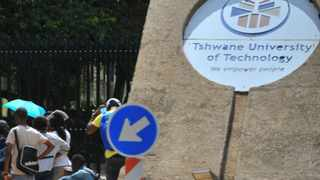 Classes were suspended at the Tshwane University of Technology on Tuesday following a student protest, the university said. File picture: Phill Magakoe