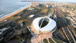 super duper: A facelift for Durban, which involves a massive change to the city centre is mooted for the near future. One of the changes includes stimulating development around Moses Mabhida Stadium.
