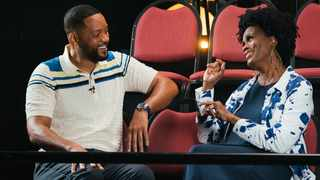 """Will Smith and Janet Hubert reunite during """"The Fresh Prince of Bel Air Reunion."""" Picture: Saeed Adyani/HBO Max"""