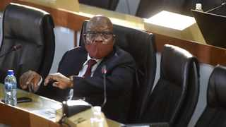 Former President Jacob Zuma at the State Capture Inquiry for the recusal application of the Chairperson of the Commission, Deputy Chief Justice Raymond Zondo. Picture: Itumeleng English/African News Agency(ANA)