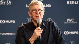 FILE - Former Arsenal manager Arsene Wenger says playing the World Cup and European Championships every two years instead of four would make football more attractive.