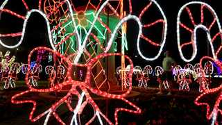 The annual Trail of Lights at Durban's Botanic Gardens enchants Candice Unsworth as she strolls through the gardens.