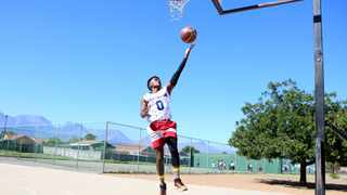 Nabihl Liebenberg, 21, from Paarl received a basketball contract to play for the Purple Jags in the M3BA league in the US. He is currently playing for the Northern Cape Zebras in the Basketball National League. BRENDAN MAGAAR African News Agency (ANA)