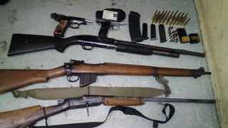 Police have reminded the public to surrender their illegal and unwanted firearms, firearm parts or ammunition without fear of being persecuted. Picture: SAPS