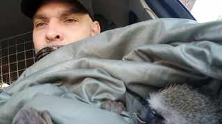 On Thursday, Cyclesphere Cycling founder Greg Albert (pictured) said he found the monkey on Oxford Road. The monkey died a few hours later. She was shot twice with a pellet gun. Picture: Supplied.