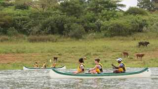 Travellers can canoe on Inanda dam. Picture: Supplied.