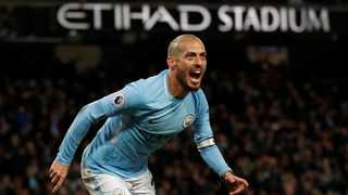 David Silva produced a brilliant finish to claim all three points for Manchester City against West Ham. Photo: Russell Cheyne/Reuters