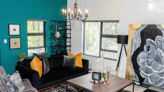 DJ Zinhle's new Airbnb listing is design goals. Picture:DJ Zinhle/Twitter.