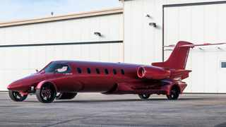 The Limo-Jet is going on auction for $5 million. Picture: jetsetterus.com
