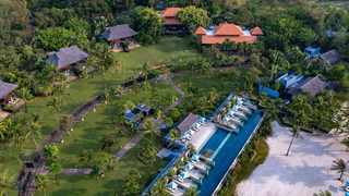 Beyond the opulent homes, cars, fashion and soirees, Crazy Rich Asians showcases the best of luxury destinations, like this resort on Gili Island in Indonesia. PICTURE: CRA