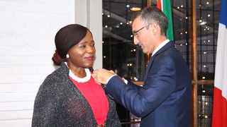 Madonsela is a multiple award-winning legal professional, with over 50 national and global awards as well as eight honorary Doctor of Law degrees. Picture: Thuli Madonsela/Twitter
