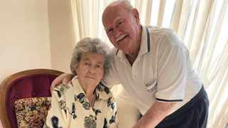 Willem Snyman, 93, and his wife of 70 years, Rita, 90, have survived Covid-19 after spending days in a hospital in eMalahleni. Picture: Supplied
