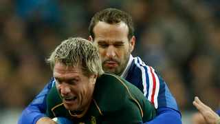 Dr Dean Allen – author, lecturer and historian will be joining Jean de Villiers on a look back at his illustrious career interrupted by multiple injury set-backs in a fundraising effort for Rugby's Caring Hands. Photo: Reuters