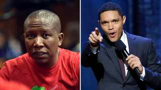 Julius Malema and Trevor Noah, at last they agree on the same thing. Picture: AP/ANA