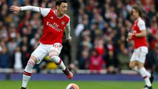 Arsenal's German midfielder Mesut Ozil is set to leave the club this month. Picture: Ian KIngton/AFP