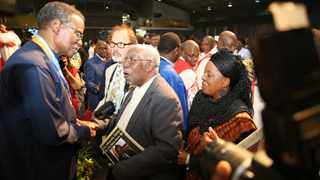 The late Dr Frank Mdlalose was a guest at the 90th birthday celebration of Prince Mangosuthu Buthelezi in 2018. Buthelezi has paid tribute to Mdlalose following his passing at the weekend: Picture: Doctor Ngcobo / African News Agency (ANA)