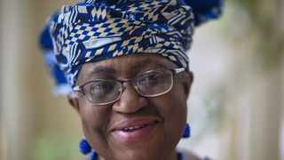 Nigeria's Ngozi Okonjo-Iweala poses at her home in Potomac, Maryland, near Washington DC, minutes before she was confirmed as the first woman and first African leader of the beleaguered World Trade Organization. Picture: Eric Baradat/AFP