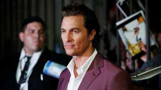 Actor Matthew McConaughey. Picture: Reuters