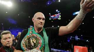 Tyson Fury has confirmed he will not return to the ring this year less than a month after saying his next fight would take place on Dec. 5 in London. Photo: Isaac Brekken/AP