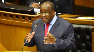 Minister of Fianance Tito Mboweni delivered the Budget Speech 2021 at the National Parliament of South Africa on Wednesday. Photograph : Phando Jikelo/African News Agency(ANA)