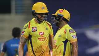 Ambati Rayudu (71) and Faf du Plessis (58 not out) shared a 115-run stand as Chennai Super Kings beat the Mumbai Indians in Saturday's Indian Premier League opener. Photo: @ChennaiIPL/Twitter