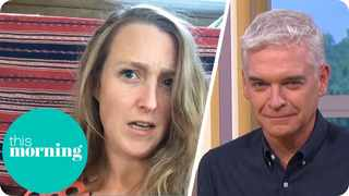 Amethyst Realm boasted to 'This Morning' presenter Phillip Schofield about having an invisible lover. Picture: YouTube.com