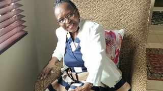 Pumla Ntikinca, 75, graduated with a Master's degree in nursing. Picture: Supplied