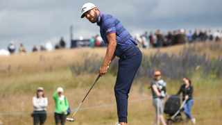 South Africa's Erik Van Rooyen has a share of the lead at the Scottish Open. Photo: PA via AP