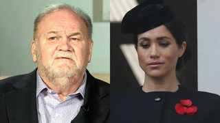 Thomas Markle and Meghan, the Duchess of Sussex. Pictures: Reuters and AP