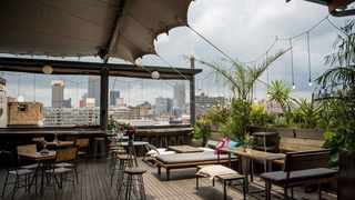 The Living Room is a lush eco-oasis in downtown Joburg. Picture: The Living Room website.