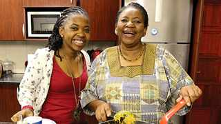 Dorah Sitole with her daughter, Phumzile.