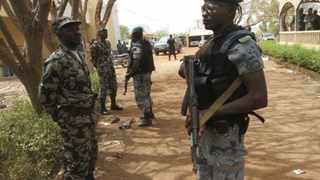 Malian soldiers stand in guard in Kati, outside Bamako. File picture: Luc Gnago/Reuters