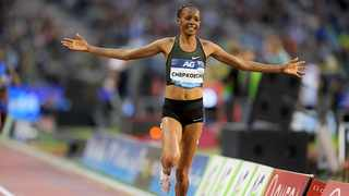 FILE - Kenya's Beatrice Chepkoech added to her 3,000m steeplechase world record when she set a new road five kilometre world best at the Monaco Run on Sunday. Photo: IAAF