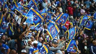 FILE - Stormers fans during a Super Rugby game at Newlands.